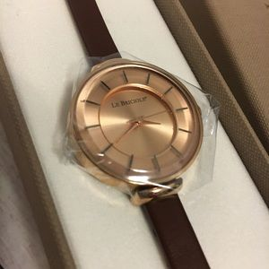 Accessories - Le Briciole rose gold watch Nwb